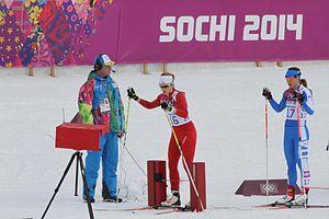 Italy at the 2014 Winter Olympics - Greta Laurent (right)