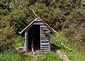 Woodshed by Chaffey Hut, Kahurangi National Park, New Zealand.jpg