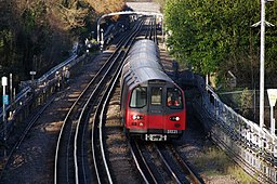 Woodside Park tube station MMB 02 1995 Stock