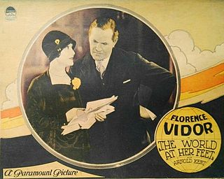 <i>The World at Her Feet</i> 1927 film by Luther Reed