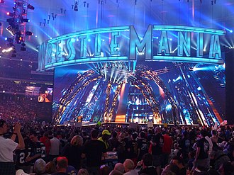 WrestleMania XXVII - 71,617 fans pack Georgia Dome for WrestleMania.