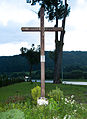 Wujskie, kościół krzyż.JPG