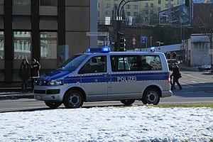 North Rhine-Westphalia Police - North-Rhine-Westphalia Police car.