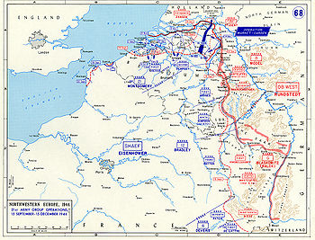 Front in the Low Countries after Market Garden