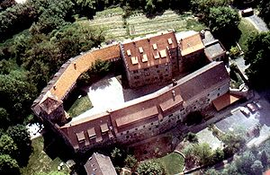Fürsteneck Castle - Aerial view of the castle