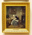 Wybrand Hendriks (1744-1831), Lezende oude vrouw, Olieverf op doek.JPG