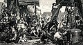 Wyciaganie nowo odlanego Dzwonu Zygmunta wobec króla i dworu w roku 1520.jpg