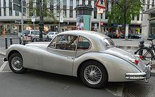jaguar xk140 fixed head coupé
