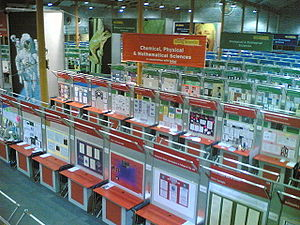Young Scientist and Technology Exhibition - Exhibition stands in 2005