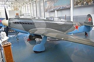 Yakovlev Yak-9 Fighter aircraft