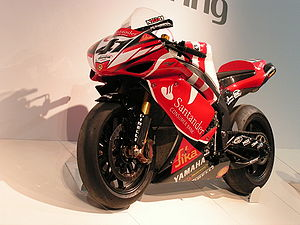 Yamaha YZF-R1 used by Noriyuki Haga during the...