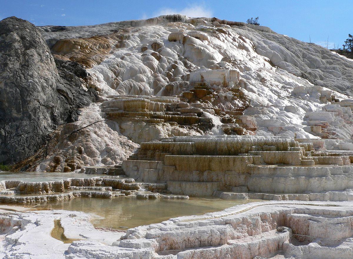 Mammoth Hot Springs  U2014 Wikip U00e9dia