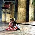 Young girls, Chidambaram temple (4790377058).jpg