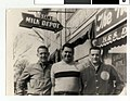 Young men hanging out in front of H and S Deli, North Side, Minneapolis (4419489708).jpg
