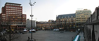 Youngstorget square and public space located in Oslo, Norway