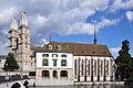 Zürich - Wasserkirche - Stadthausquai IMG 0612 ShiftN.jpg
