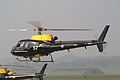ZJ257 Aerospatiale Squirrel HT.1 Defence Helicopter Flying school. RAF Shawbury (3369434501).jpg