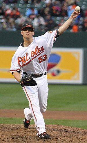 Zach Britton - Britton with the Baltimore Orioles
