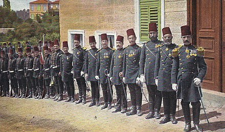 Ottoman officers in Istanbul, 1897 Zapotocny.jpg