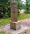 Zeil am Main (Bischofsheim) former frontier Duchy of Saxe-Coburg-Gotha 02.jpg