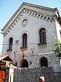 Zemunska sinagoga čeona fasada.JPG