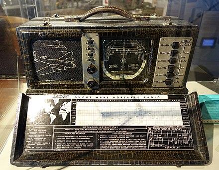 Shortwave radio receiver - Wikiwand