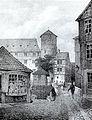Zeughaus mit Beginenturm von Rudolf Wiegmann.jpg