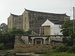 "Zhaojiabao (""Zhao family castle""), a fortified family residence in Huxi She Township"