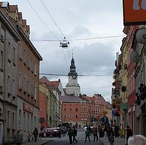 Złotoryja - Town centre