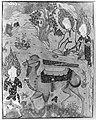 """Coffin of Imam 'Ali"", Folio from a Falnama (The Book of Omens) of Ja'far al-Sadiq MET 147004.jpg"