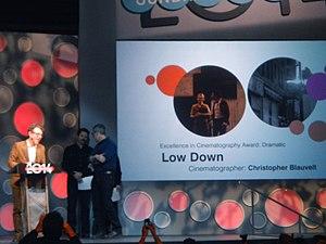 Christopher Blauvelt - Christopher Blauvelt at the Sundance 2014 Awards Ceremony