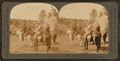 """""""Over the hills and far away,"""" before night we'll have an elk at bay, hunting big game in Montana, U.S.A, by Keystone View Company.png"""