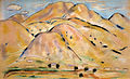 'Arroyo Hondo' by Marsden Hartley, 1918, pastel on paper.jpg