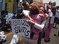 'FREE HUGS' in a marketplace, Chile.jpg