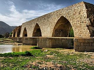 Shapuri Bridge bridge in Iran