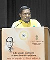 (Dr.) Ram Shankar Katheria addressing at the National Seminar on Dr. Bhimrao Ambedkar – Multipurpose Development of Water Resources and Present Challenges, in New Delhi.jpg