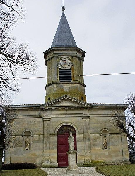 église de Chaumont-sur-Aire.