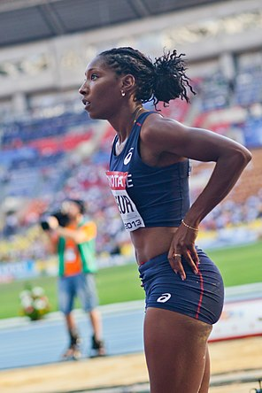 Éloyse Lesueur (2013 World Championships in Athletics) 02.jpg