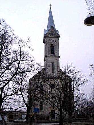 Šajkaška - Image: Žabalj, Catholic Church