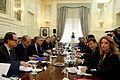 Διυπουργική σύσκεψη για την προετοιμασία του Ανώτατου Συμβουλίου Συνεργασίας Ελλάδας – Τουρκίας (ΥΠΕΞ 19.11.14) (15640508359).jpg