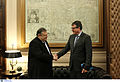 Συνάντηση Αντιπροέδρου της Κυβέρνησης και Υπουργού Εξωτερικών Ευ. Βενιζέλου με τον Πρέσβη της Γερμανίας P. Schoof (15538935727).jpg