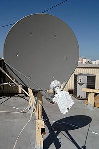 спутниковый интернет диапазон