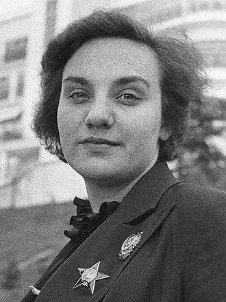 Valentina Grizodubova - Image: Валентина Степановна Гризодубова, 1938