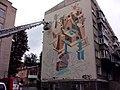 Графити с помощью пожарной машины - panoramio.jpg