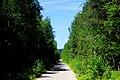 Дорога на Секирную гору, вид на Свято-Вознесенский скит..JPG