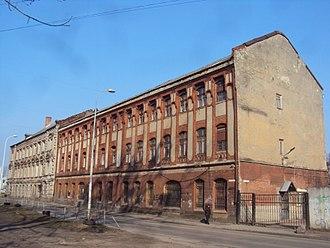 Kaliningrad Amber Combine - Building of the former Königsberg Amber Factory