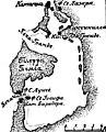 Карта к статье «Картагена» № 2. Военная энциклопедия Сытина (Санкт-Петербург, 1911-1915).jpg