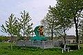 Пам'ятник воїнам-односельчанам в селі Рівець P1210357.jpg