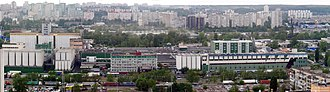 Obolon (company) - The main Obolon plant on Bohatyrska Str. in Kiev