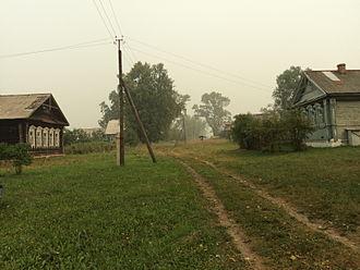 Palekhsky District - The village of Potanino in Palekhsky District